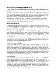 Hämta hem tidningsartikel av Ingvar Lisius om 2010 års festival.