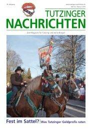 Download Heft 02 / Februar 2010 - Tutzinger Nachrichten