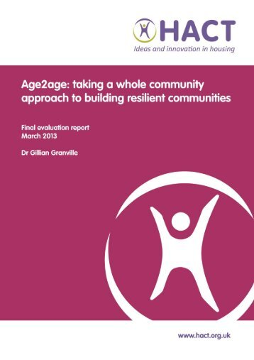 Age2Age Evaluation June 2013 - Centre For Intergenerational ...