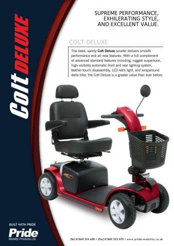 COLT DELUXE - H S C Mobility Ltd
