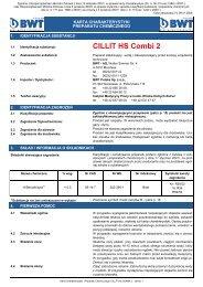 MSDS-Cillit HS Combi 2.pub (tylko-do-odczytu) - BWT Polska