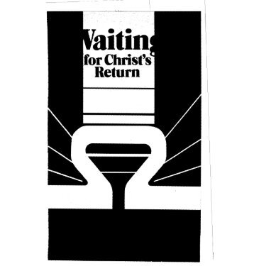waiting - Reformational Publishing Project