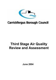 Third Stage Air Quality Review and Assessment