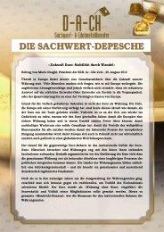 D-A-CH-Depesche vom 29.08.2012