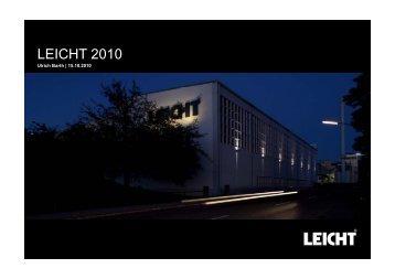 LEICHT 2010 LEICHT 2010 - Leicht New York