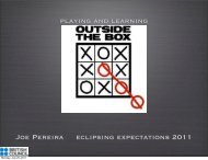 Playing and learning outside the box - PDF