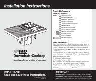 Whirlpool Sc8720edb Installation Instructions