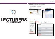 SuFO Guideline - i-Learn Portal – UiTM e-Learning Portal