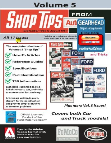 DEMO - Ford Shop Tips - Volume 5 - ForelPublishing.com