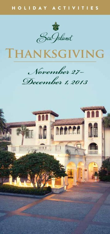 View Full Event Scheudle - Sea Island