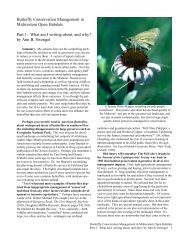 What am I writing about, and why? - North American Butterfly ...
