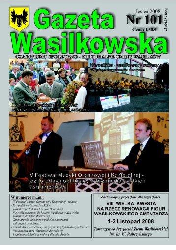 Numer 101 - Gazeta Wasilkowska - Wasilków
