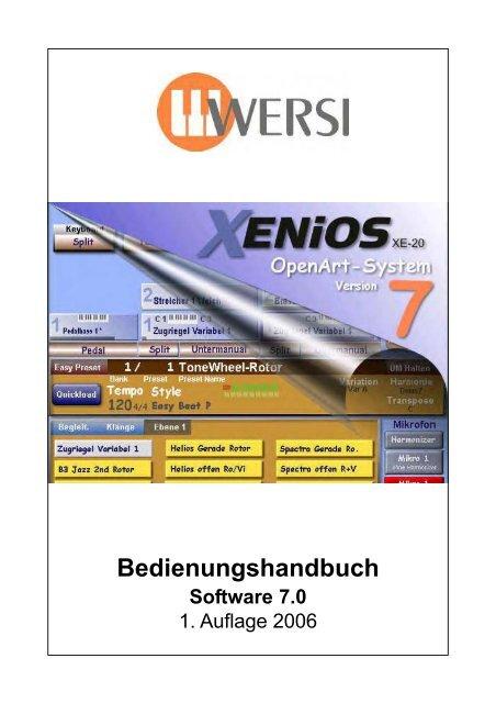 "Wersi Memory Card ROM 8  Sound /""Drawbars/"" für CD Orgeln"