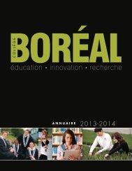 éducation 4 innovation 4 recherche - Collège Boréal