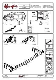 Anhängerkupplung Chrysler Grand Voyager