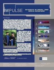 Volume II, Issue I - Physics - University of Nevada, Reno
