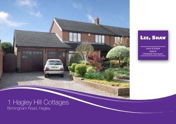 1 Hagley Hill Cottages - Lee Shaw Partnership