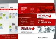 Montag KURSPLAN - Skala Sportive