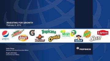 Presentation - PepsiCo