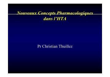 Nouveaux Concepts Pharmacologiques dans l'HTA