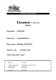 Eksamen - RES 09