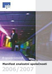 Manifest znalostní společnosti 2006/2007 - ICT unie