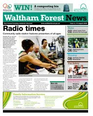 Issue 2: 10 August: Radio times - Waltham Forest Council
