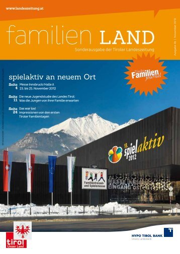 Journal 4/12 - Tirol - Familienpass