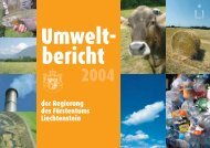 der Regierung des Fürstentums Liechtenstein - Alexander Batliner Est.