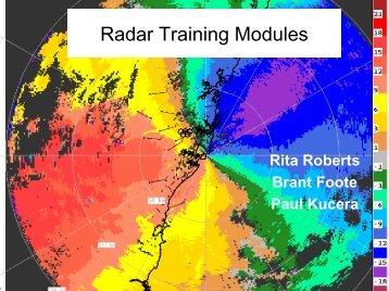 Radar Training Modules - UCAR Africa Initiative