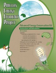 Advanced Energy Conservation Kit - Pinellas County Extension ...