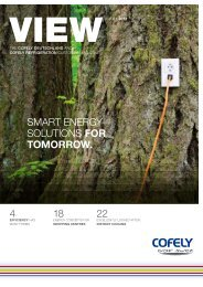 4 18 22 SMART ENERGy SOlUTIONS foR tomoRRoW. - Cofely