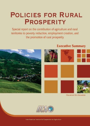 policies for rural prosperity