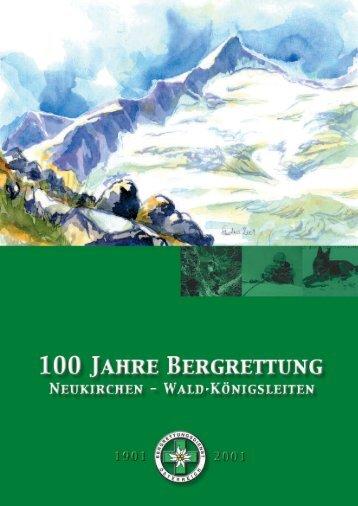 Grußworte - Bergrettung Neukirchen