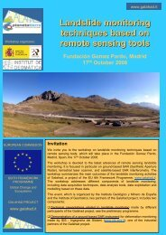 Brochure of Madrid Workshop - mountain.PROJECTS