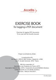 Tagged exercise book - AcceDe PDF