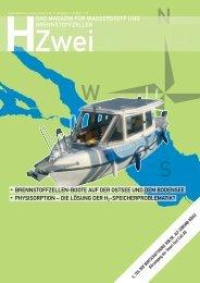 PV-H2-Schiff wurde dem Wasser übergeben - HZwei