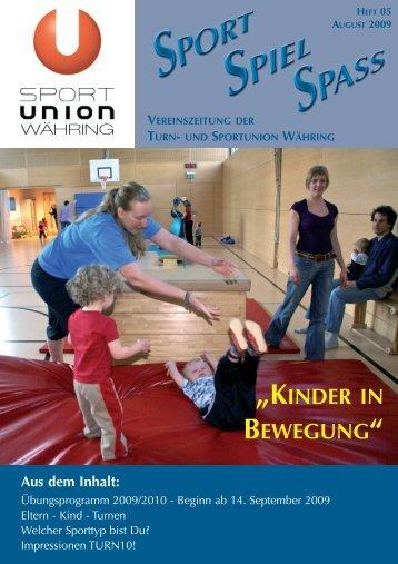 Heft 05 - Sportunion Währing