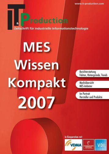 MES Wissen Kompakt 2007 - IT & Produktion