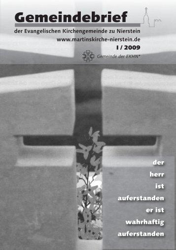 Unser Leitbild - Evangelische Kirchengemeinde Nierstein
