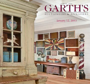 January 12, 2013 - Garth's Auctions, Inc.