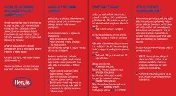 zgibanka SKI SERVIS - HR - Hervis