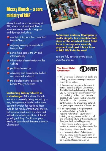 Messy Church – a core ministry of BRF - BRF Online Shop