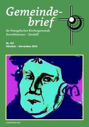 der Evangelischen Kirchengemeinde Kornelimünster ... - kzwei.net