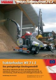 Traktorhacker WT 7 L Z - LemnSuperMarket.ro