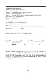 SI, IR Kolokvijum 3 - Septembar 2012.pdf - Operativni Sistemi