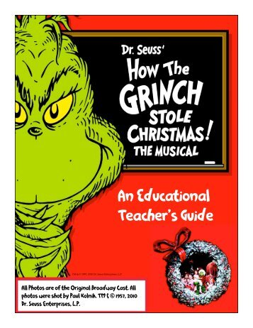 An Educational Teacher's Guide - Citi Performing Arts Center
