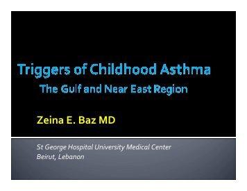 Triggers of Childhood Asthma - Baz - World Allergy Organization