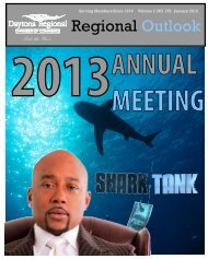 January 2013 Regional Outlook Newsletter - Daytona Beach ...