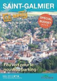 Le Mag n°14 - Site officiel - Mairie de Saint-Galmier
